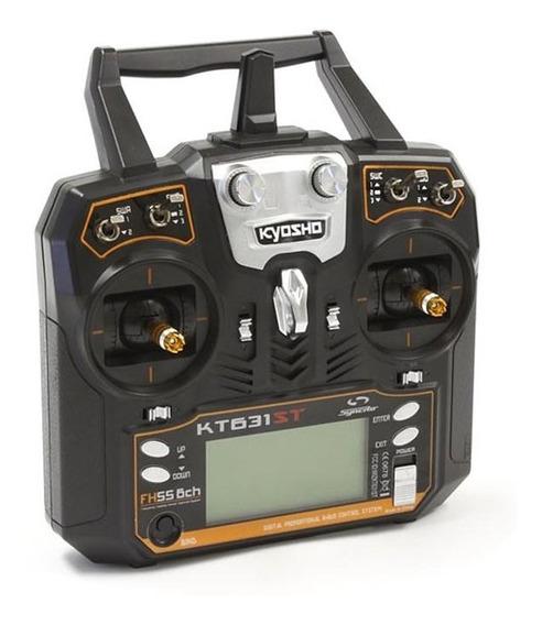 Rádio Controle Kyosho Syncro Kt631st Telemetria 6 Canais