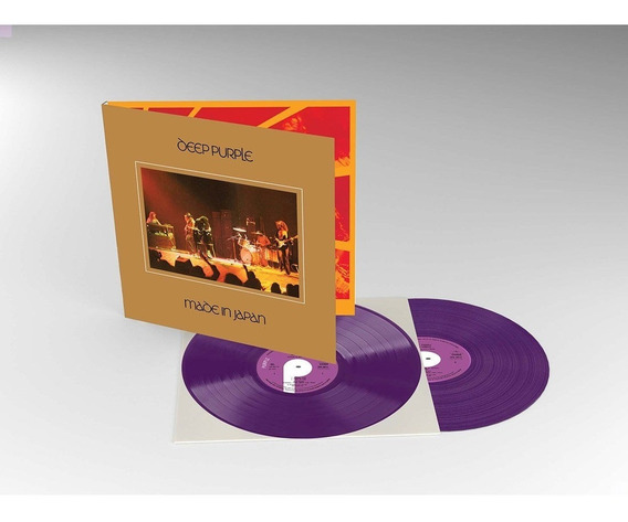 Deep Purple Made In Japan Vinilo 2 Lp Color Rocktober Stock