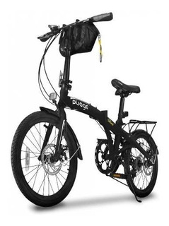 Bicicleta Bike Dobrábvel Two Dogs Preto Pliage Plus