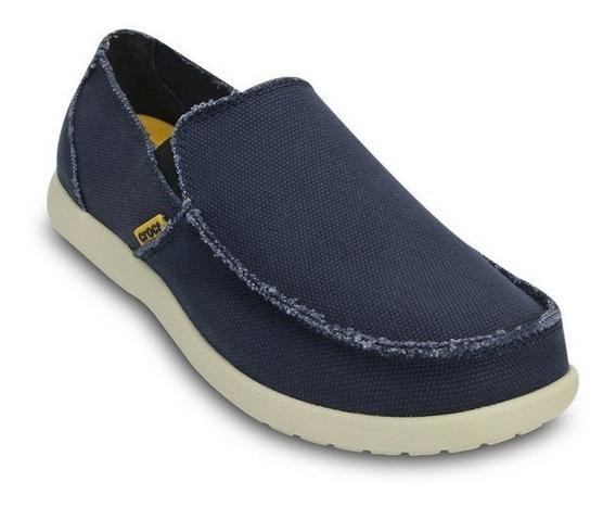 Zapatos Nauticos Crocs Santa Cruz Hombre Mocasines 6 Cuotas