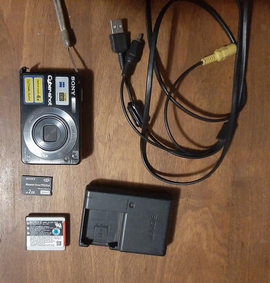 Câmera Sony Dsc-w110 Usada Excelente Estado + Extras