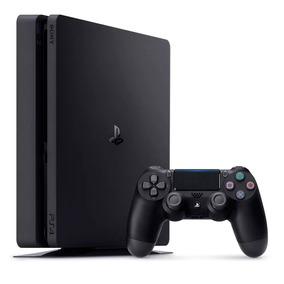 Playstation 4 Slim 1tb Bivolt Ps4 Com 3 Jogos Midia Fisica