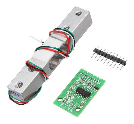 Célula De Carga Gl 1kg Ou 5kg ( A Escolher ) + Módulo Hx711 Sensor Peso Balança Arduino