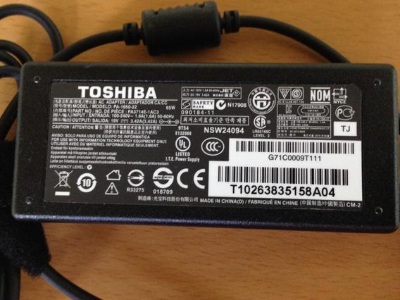 Cargador Laptop Para Toshiba 19v--3.42amp Kingpc20 Tienda