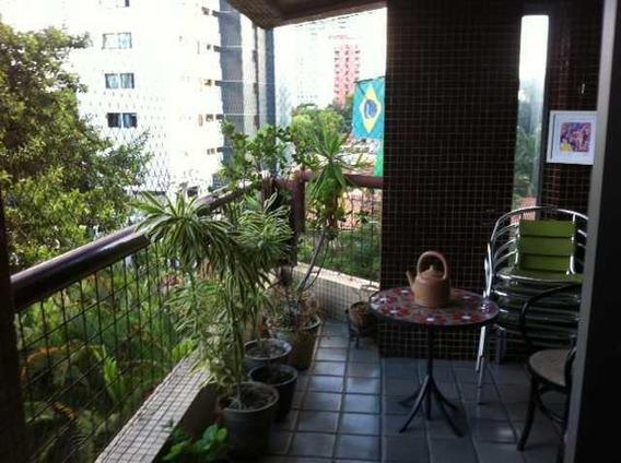 Apartamento Em Parnamirim, Recife/pe De 156m² 4 Quartos Para Locação R$ 1.900,00/mes - Ap172197