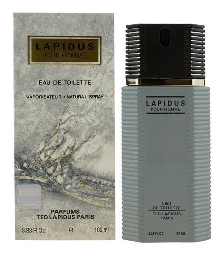 Perfume Locion Lapidus Hombre 100% Orig - L a $1000