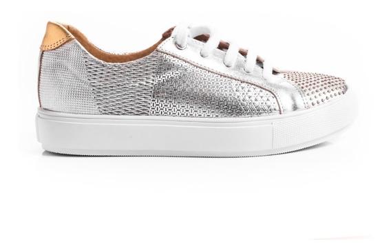 Zapatillas Mujer Sneakers Urbanas Zapatos Plataformas Cuero