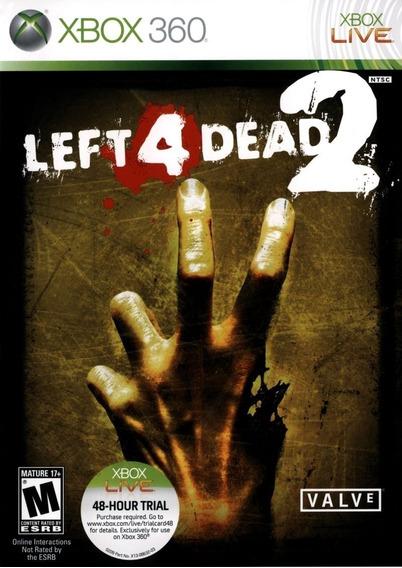 Left 4 Dead 2 Xbox 360 Midia Digital