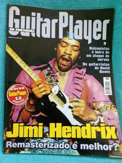 Revista Guitar Player Jimi Hendrix N18 Julho 1997 Bom Estado