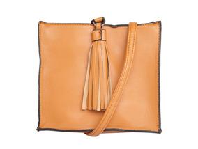 Bolsa Pequena Quadrada Com Tassel