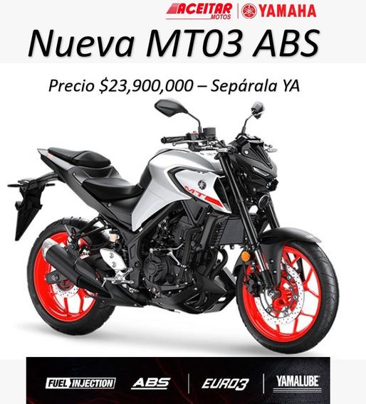 Yamaha Mt 03 Nueva Versión