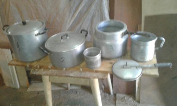 Subasto Ollas Aluminio Grueso Sanas .sin Envios .a Retirar