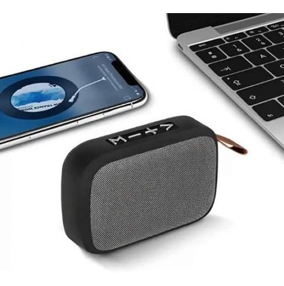 Caixa De Som Portátil Com Bluetooth Mk-138 - Cores Sortidas