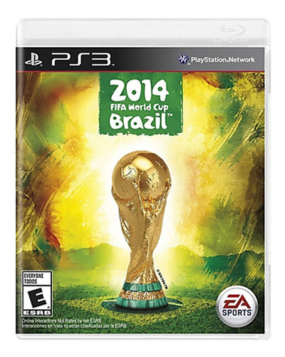 Fifa 2014 World Cup Brazil - Ps3 Fisico Nuevo & Sellado