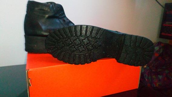 Zapatos Tipo Borcegos Mujer