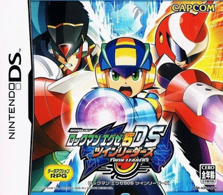 Mega Man Battle Network 5 Nuevo Fisico Nintendo Ds