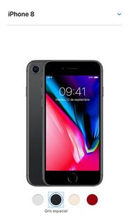 Iphone8 64gb At&t Space Gray Nuevo Original Remate
