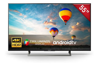 Televisor Sony 4k Hdr De 55¨ Android Tv - Xbr-55x807e