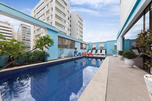Cobertura, 433 M² - Venda Por R$ 3.800.000,00 Ou Aluguel Por R$ 15.000,00/mês - Perdizes - São Paulo/sp - Co0103