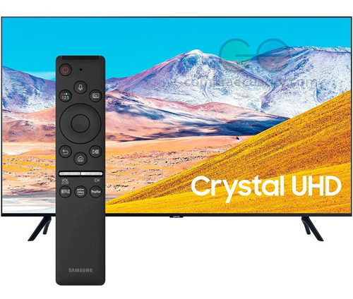 Samsung Televisor Led Smart 55¨ Crystal 4k Hdr Serie 8 Tizen