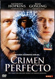 Crimen Perfecto ( Anthony Hopkins Ryan Gosling ) Dvd Origina