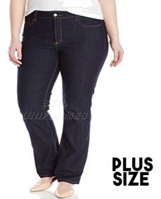 Calça Jeans Plus Size Reta Básica. Tamanho Especial Uniforme