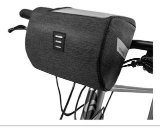 Alforja Delantera Bicicleta Mtb Roswhell Porta Celular
