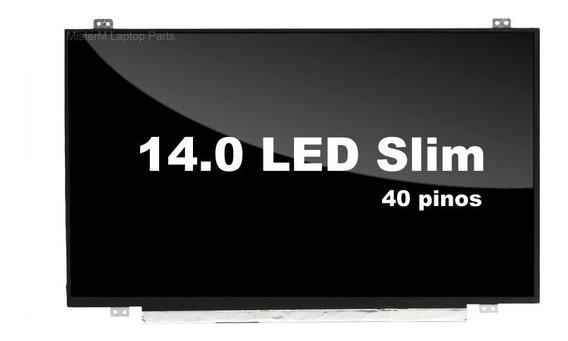 Tela 14.0 Led Slim Intelbras I630 I641 I651 I652 I654 I650