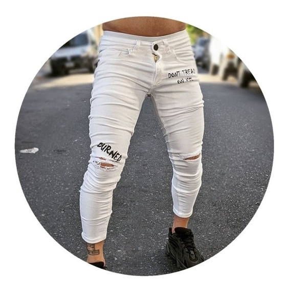 Jeans Blanco Slim Fit