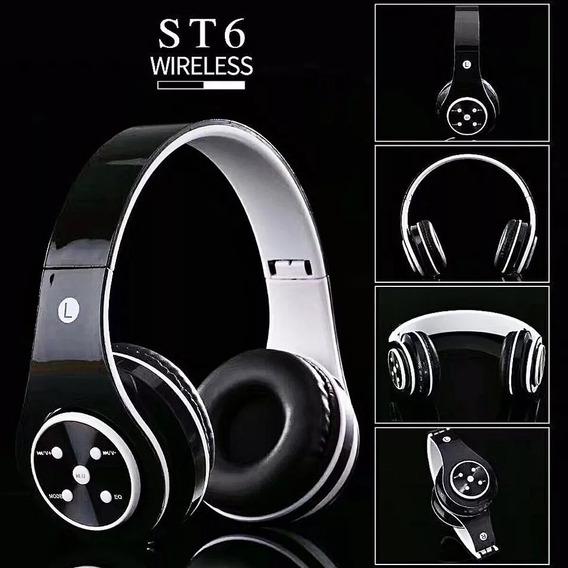 Fone De Ouvido Bluetooth Headphone Chamada Música St6
