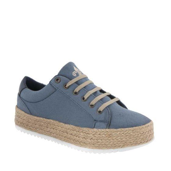 Tenis Casual Urban Shoes A001 Azul 100% Originales 821838