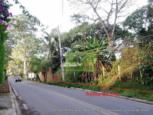 Imagem 1 de 18 de Terreno À Venda, 2334 M² Por R$ 1.340.000,00 - Granja Viana - Cotia/sp - Te0405