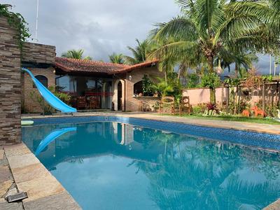 Casa No Condomínio Morada Da Praia-sp Com Piscina
