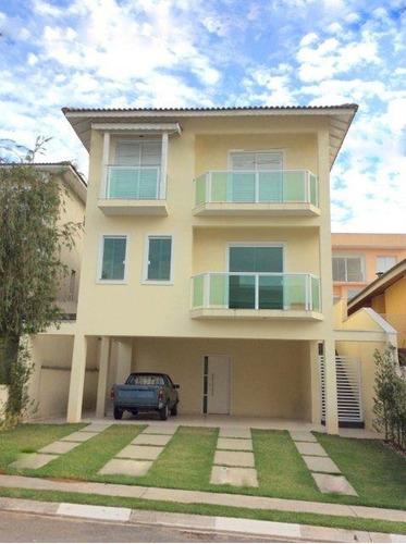 Casa Com 4 Dormitórios À Venda, 238 M² Por R$ 1.080,00 - Palm Hills Granja Viana Club Residence - Cotia/sp - Ca1943
