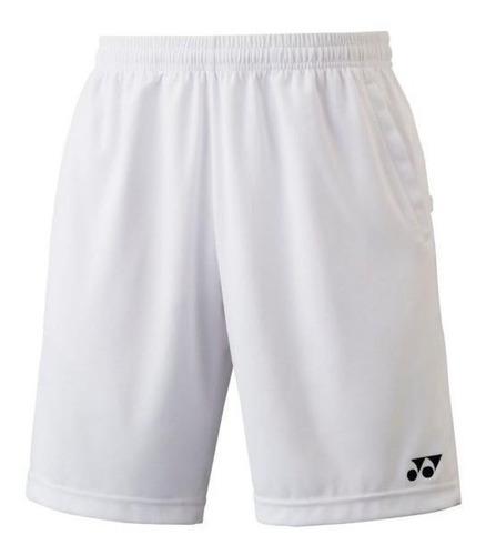 Imagen 1 de 2 de Shorts Deportivos Yonex Blancos Talla Grande