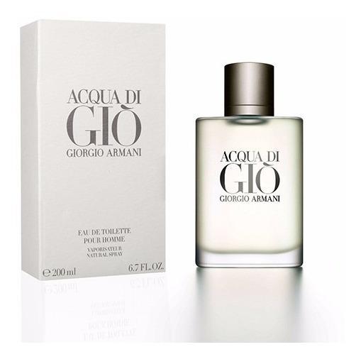 Perfume Masculino Acqua Di Gio Giorgio Armani - Edt 200ml