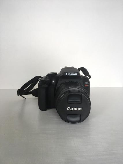 Câmera Canon Eos Rebel T6 + Lente 18-55 + Lente 75-300