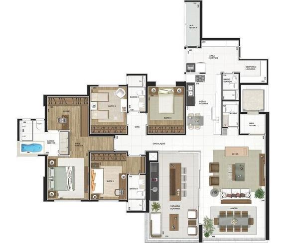 Apartamento Residencial Em Londrina - Pr - Ap1128