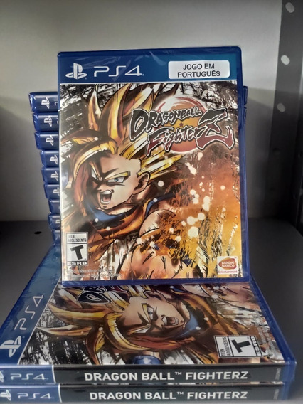 Dragon Ball Fighterz Ps4 Mídia Física Lacrado Em Português