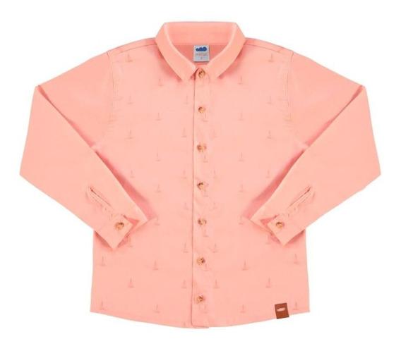 Camisa Social Infantil Masculina Marlan