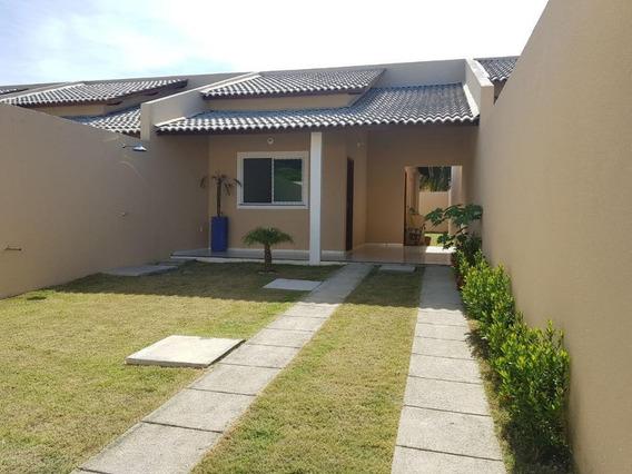 Casa Em Urucunema, Eusébio/ce De 95m² 3 Quartos À Venda Por R$ 180.000,00 - Ca249133