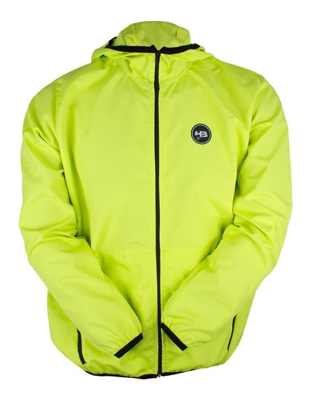 Jaqueta Hb Corta Vento Zip Pocket Verde