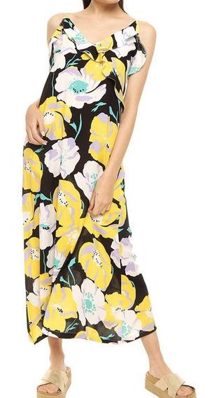 Vestido Largo Bretel Fino Mujer Prussia - Flowr 9524
