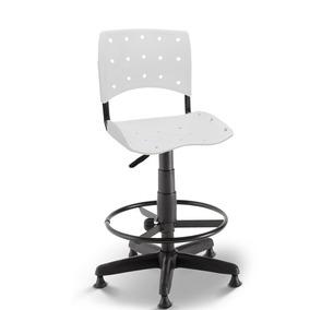 Cadeira Caixa Secretária Balcão Portaria Ergoplax Branco