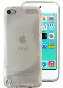 Capa Para iPod Touch 5 6 Geração Silicone Preta Ou Incolor