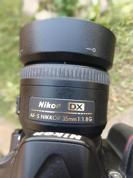Nikon D5200 + 35mm 1.8 + Sd 32g E Bag (sony, Canon)