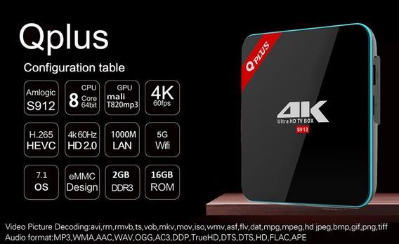 Conversor Vontar Qplus Digital 4k (16gb-rom) + Controles