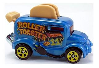 Hot Wheels Tostadora Roller Toaster Movimiento Solo Envios