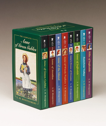 Libro Anne Of Green Gables, Complete 8-book Box Set: ...