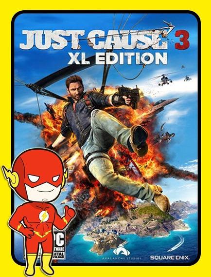 Just Cause 3 Xl Pc - Steam Key (envio Flash)